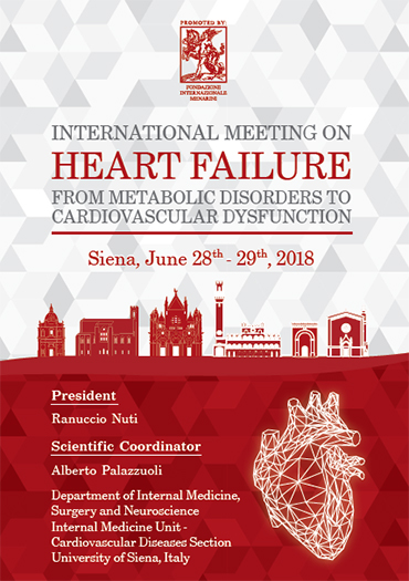 International meeting on heart failure: From metabolic disorders to cardiovascular dysfunction